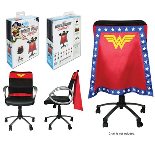 Wonder Woman Chair Cape Entertainment Earth Wonder
