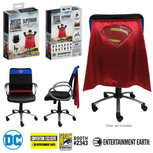 Justice League Movie Superman Chair Cape - Con. Excl.