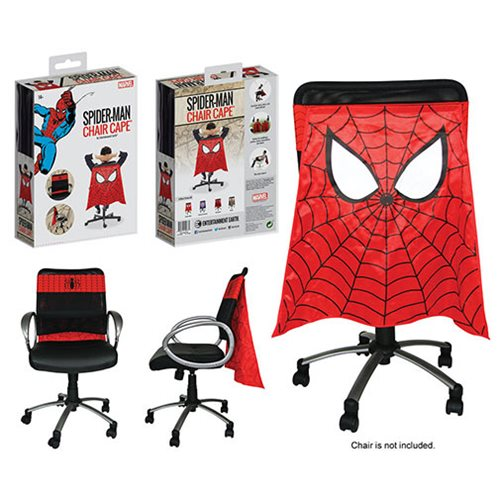 Entertainment Earth Chair Cape (TM) Celebrates Spider-Man