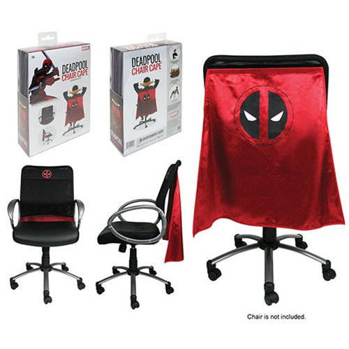 New Deadpool Chair Cape - Prepare Your Chair for Chimichanga Consumption