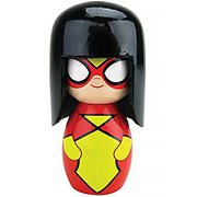 Spider-Woman Wittles Wooden Doll
