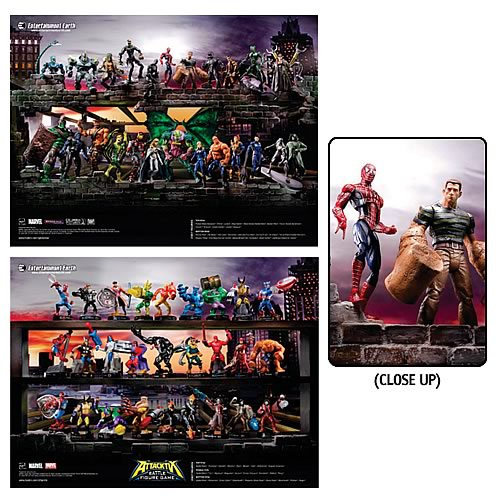 Entertainment Earth Exclusive Hasbro Marvel Poster