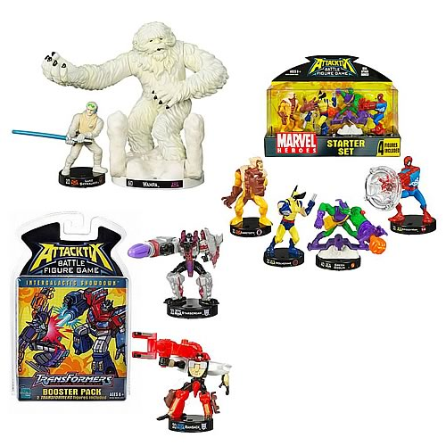Attacktix Star Wars, Marvel, Transformers Mega-Bundle