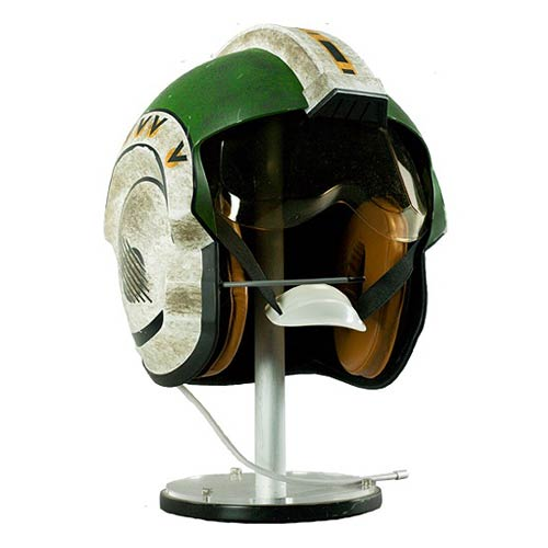 Star Wars Wedge Antilles' X-Wing Pilot Helmet Prop Replica