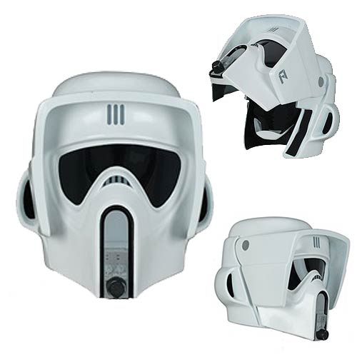 Star Wars Scout Trooper Limited Edition Helmet Prop
