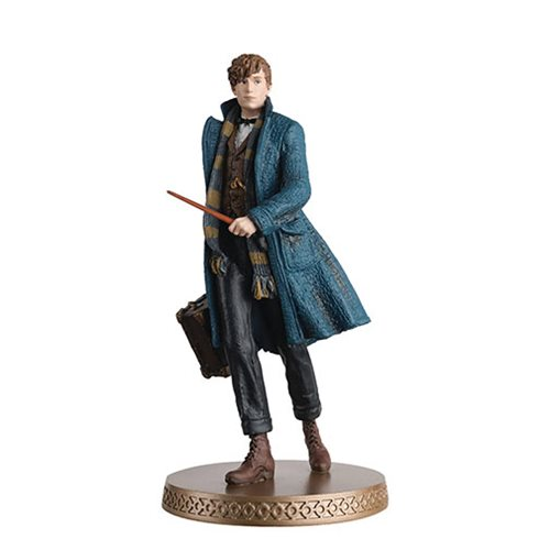 Harry Potter Wizarding World Collection Newt Scamander Figure with Collector Magazine #4