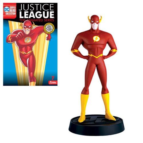 DC Justice League TAS Flash Collector Figure