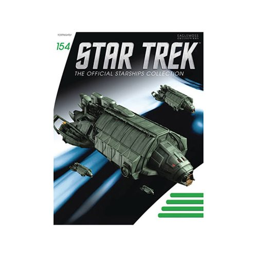 Star Trek Starships Klingon Rebel Transport Die-Cast Vehicle with Collector Magazine #154