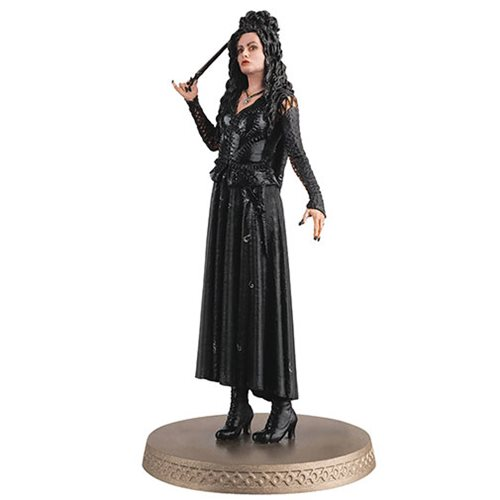 Harry Potter Wizarding World Collection Bellatrix LeStrange Figure with Collector Magazine #16