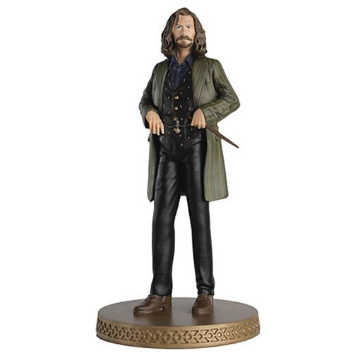 Harry Potter Wizarding World Collection Sirius Black Figure with Collector Magazine #17