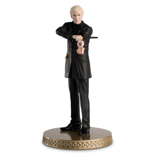 Harry Potter Wizarding World Collection Older Draco Figure with Collector Magazine