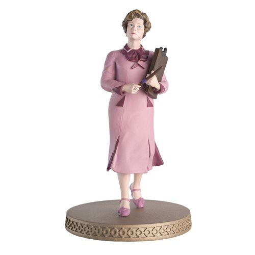 Harry Potter Wizarding World Collection Dolores Umbridge Figure with Collector Magazine
