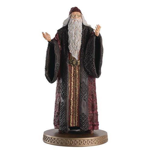 Harry Potter Wizarding World Collection Professor Albus Dumbledore Year 1 Figure with Collector Magazine