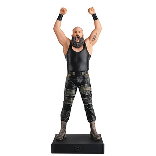 WWE Championship Collection Braun Strowman Statue with Collector Magazine #5