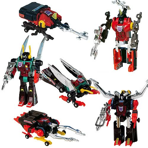 Transformers Generation 1 Insecticon Clone Army Set