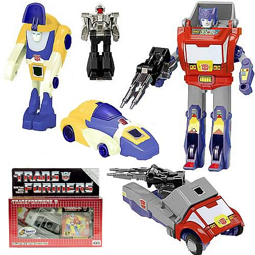 Transformers Generation 1 Orion Pax with Dion Set
