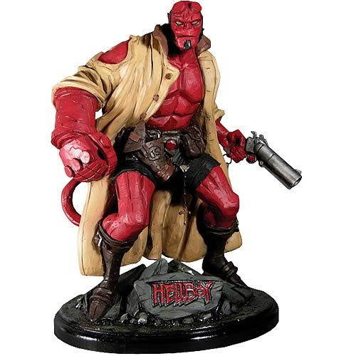 Classic Heroes Hellboy Statue