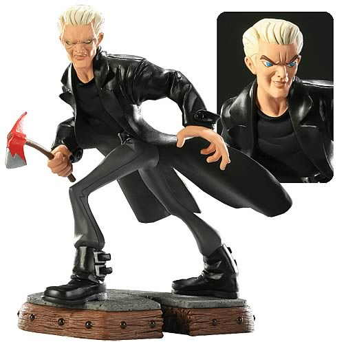 Buffy the Vampire Slayer Spike Animated Maquette Statue