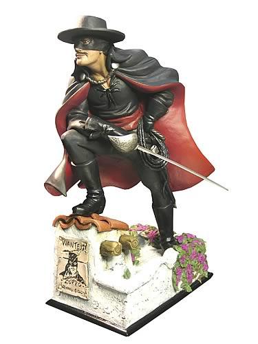Zorro Statue