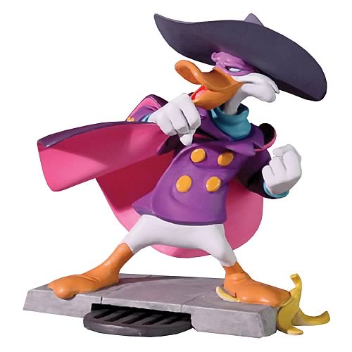 Darkwing Duck Animated Maquette