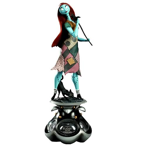 Nightmare Before Christmas Sally Animated Ladies Statue