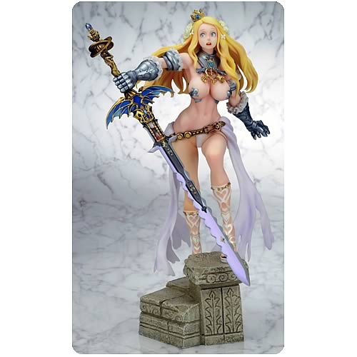 Code of Princess Warrior Princess Solange Statue