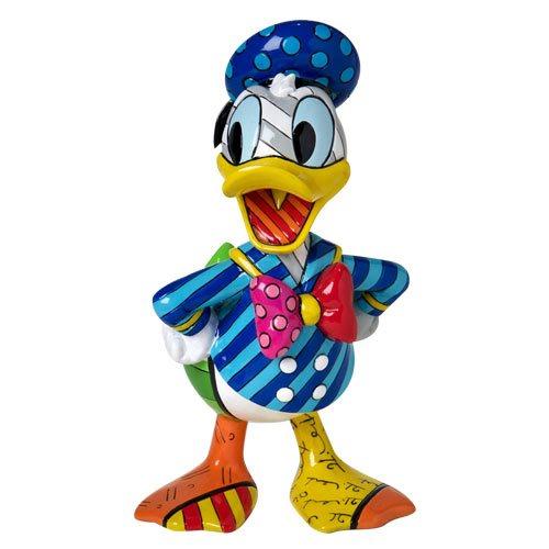 Disney Donald Duck 7-Inch Statue by Romero Britto