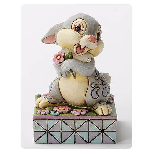 Disney Traditions Bambi Thumper Spring Has Sprung Statue