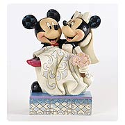 Disney Traditions Mickey and Minnie Wedding Statue