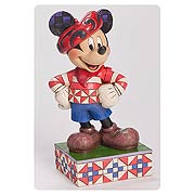 Disney Traditions Mickey Mouse Greetings from France Statue