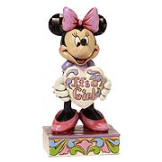 Disney Traditions Minnie Mouse It's a Girl Statue