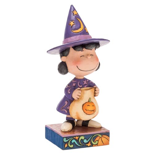Peanuts Lucy Halloween Witch Statue