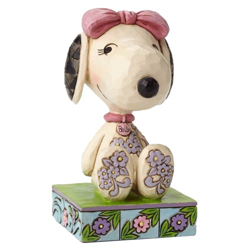 Peanuts Traditions Snoopy's Sister Belle Personality Statue