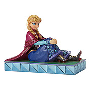 Disney Traditions Frozen Anna Personality Pose Statue