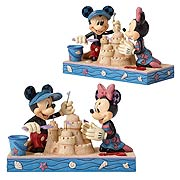 Disney Traditions Mickey & Minnie Seaside Sweethearts Statue