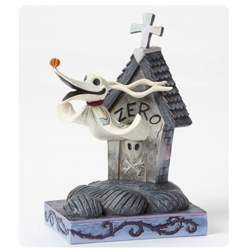 Disney Traditions Nightmare Before Christmas Zero and Dog House Statue