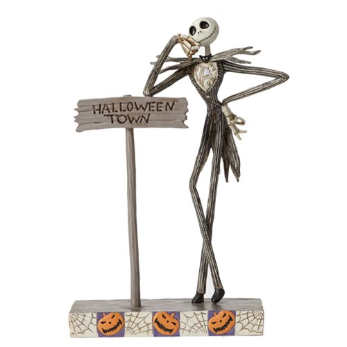 Disney Traditions Nightmare Before Christmas Jack Skellington Statue