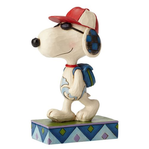 Peanuts Jim Shore Joe Cool Snoopy Student Statue