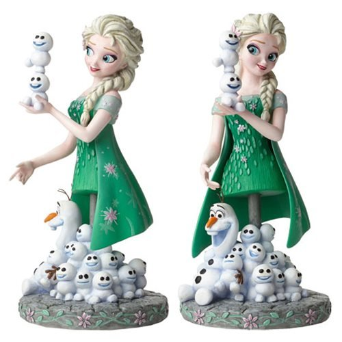 Frozen_Fever_Elsa_and_Olaf_Grand_Jester_MiniBust