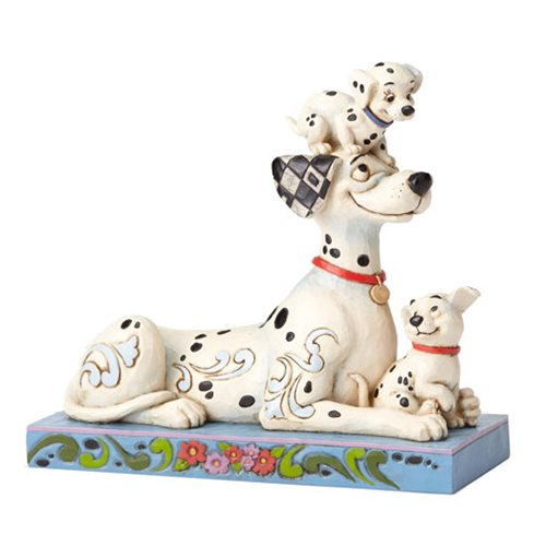 Disney_Traditions_101_Dalmatians_Pongo_with_Penny_and_Rollie_Puppy_Love_by_Jim_Shore_Statue