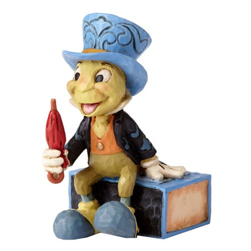 Disney Traditions Pinocchio Jiminy Cricket Mini Statue