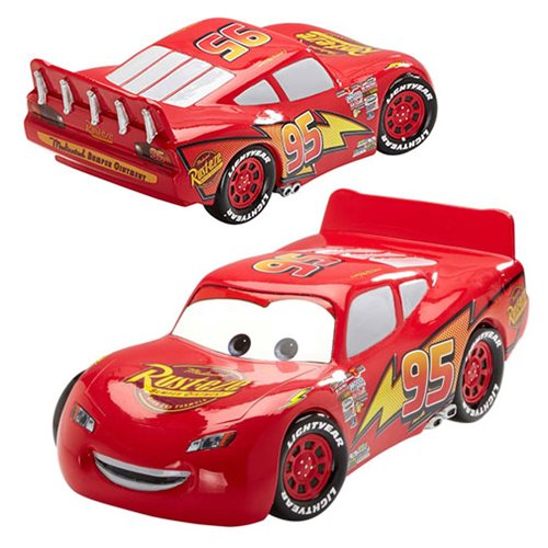 Disney Showcase Cars Lightning McQueen Statue