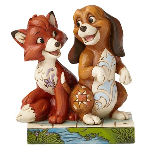 Disney_Traditions_Fox_and_the_Hound_Unexpected_Friendships_Statue