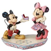 Disney Traditions Mickey and Minnie A Magical Moment Statue