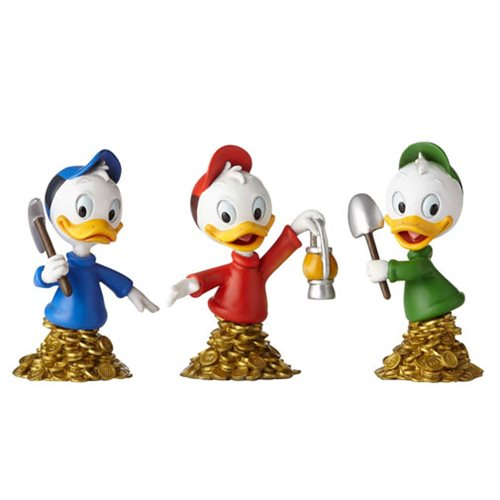 DuckTales_Huey_Dewey_and_Louie_Grand_Jester_MiniBust