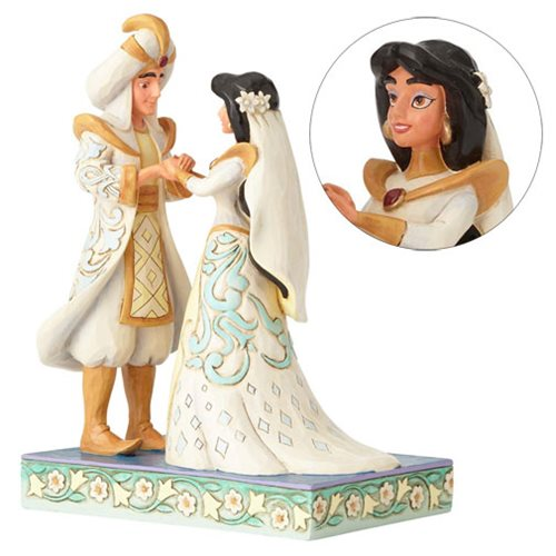Disney Traditions Aladdin Jasmine And Wedding Statue