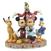 Disney Traditions Fab Five The Gang's All Here Statue