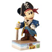 Disney Traditions Mickey Mouse Pirate Statue