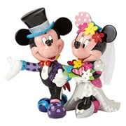 Disney Mickey and Minnie Wedding Statue by Romero Britto
