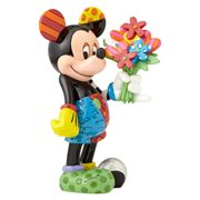 Disney Mickey Mouse with Flowers Statue by Romero Britto